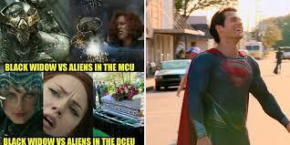 Justice League Meme - savagely brutal mcu v dceu memes cbr