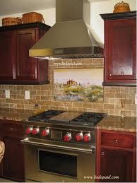 murals for kitchen backsplash kitchen backsplash murals mosaic medallions and accent tiles