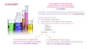 1 matter an experimental science interested in understanding the