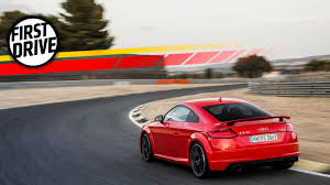 audi germany flag the fierce 400 hp 2018 audi tt rs can make anyone into a hero on track