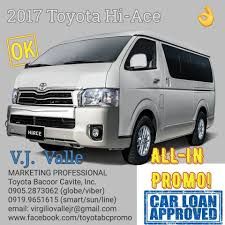 toyota van philippines in bacoor cavite facebook