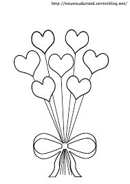 coloriage coeurs st valentin