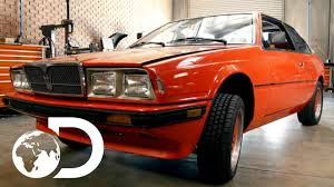 old maserati biturbo mike discovers a 1985 maserati bi turbo wheeler dealers