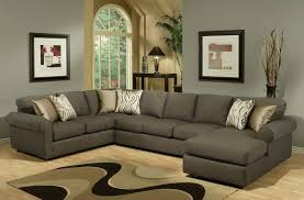 sofa grey leather reclining sectional oversized sectionals gray