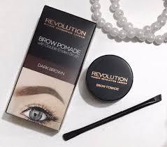 me vs the odds makeup revolution brow pomade review me vs