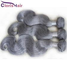 can ypu safely bodywave grey hair malaysian body wave grey hair weave silver gray human hair