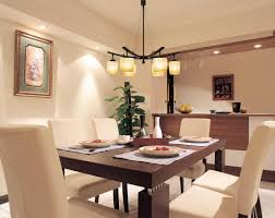 Inspiring Home Interior Design For Dining Room Lighting Home - Home interior design dining room
