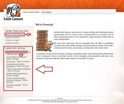 how to apply for little caesars jobs online at littlecaesars com