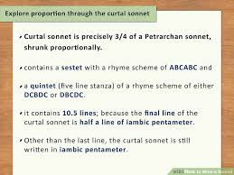 Words That Rhyme With Table How To Write A Sonnet With 2 Sample Poems Wikihow