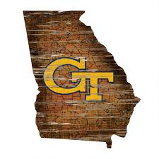 tech wall art tech yellow jackets distressed 24