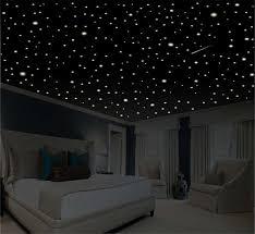 glow in the dark bedroom romantic bedroom decor star wall decal glow in the dark