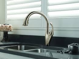 kitchen faucet carefree touch kitchen faucet delta 9113t