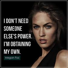 15 inspirational megan fox quotes with images