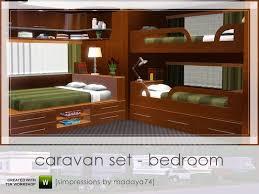 3 Bunk Bed Set Madaya74 S Caravan Set Bedroom