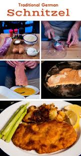 my traditional german schnitzel and a recipe