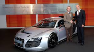first audi first audi r8 lms delivered