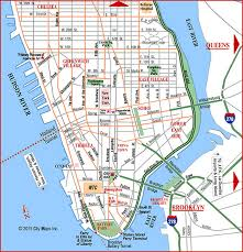 map of new york and manhattan road map of lower manhattan manhattan new york aaccessmaps