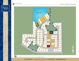 blue lake estates map royal oak eustis home builder