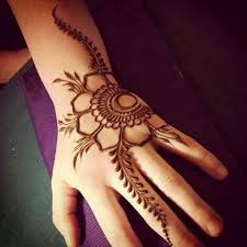 beautiful simple flower henna designs for eid henna mehndi