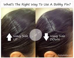 is there a right way to use a bobby pin pretty gossip