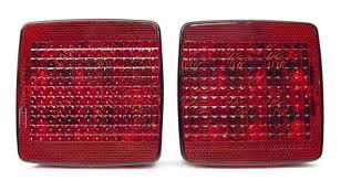 led tail lights for a trailer 4 submersible led tail lights for trailer trucks rvs marine led