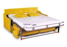 canapé convertible jaune acheter votre canapé convertible 3 places microfibre jaune chez simeuble