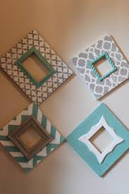 distressed frames set of modern funky pattern in grey and