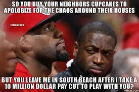 Wade Meme - nba memes on twitter dwyane wade upset with lebron james over