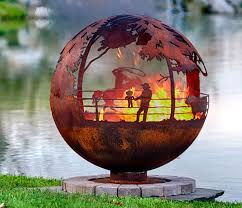 Cowboy Firepit 40 Incredibly Cool Pits You Can Buy For Your Home