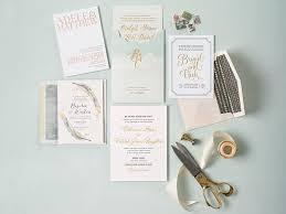 Gold Foil Wedding Invitations Fabulous Gold Foil Wedding Invitations