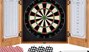best dart board cabinet deadbullseye