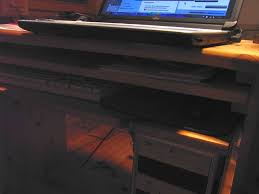 Schreibtisch Pc Laptop Auf Schreibtisch