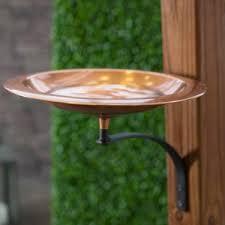 deck mounted bird bath hayneedle