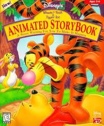 disney u0027s animated storybook winnie pooh tigger