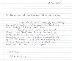 Thank You Letter Veterans template veterans day thank you letter template
