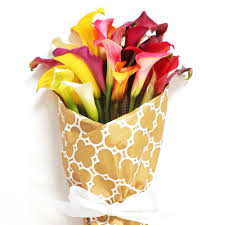 Lily Bouquet Mixed Calla Lily Bouquet Order Now At Calcallas Com