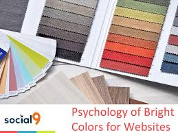 Color Suggestions For Website Psychology Of Bright Colors For Websites Social9