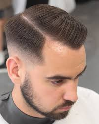 different types of receding hairlines side part hairstyle for receding hairline receding hairline