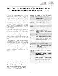 6 programa de ampliación y modernización de las redes