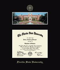 fsu diploma frame florida state cus diploma frame in galleria