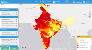 North India Map by Maps U0026 Data World Resources Institute