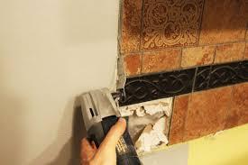 How To Backsplash Kitchen Beautiful Kitchen Backsplash Removal Diy Update Home Improvement