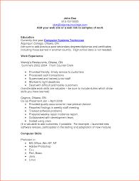 Cognos Sample Resume Resume Computer Repair Resume