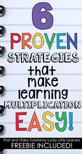 best 25 multiplication strategies ideas on pinterest teaching