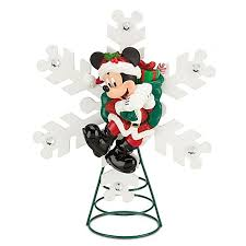 santa mickey mouse tree topper disney all things disney