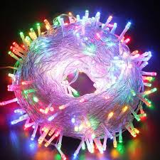 100m 600 led waterproof outdoor party lights christmas holiday