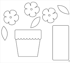 9 flower pot templates psd vector eps jpg ai illustrator