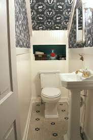 Powder Room Makeovers Photos - the powder room under the stairs the i did most of the work
