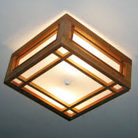 Arts And Crafts Ceiling Lights by Hanging Ceiling And Chandelier Lights By Idaho Wood Oak And Cedar