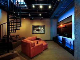 fascinating house basement design for your minimalist interior